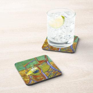 Pintura de Vincent van Gogh de la silla de Gauguin Posavasos De Bebidas