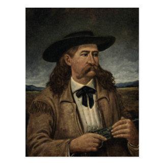 Pintura de Wild Bill Hickok Postal