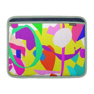 Pintura del aguacate de la cerca del sentido del a funda  MacBook