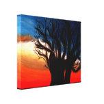 Pintura del árbol del baobab lienzo envuelto para galerías