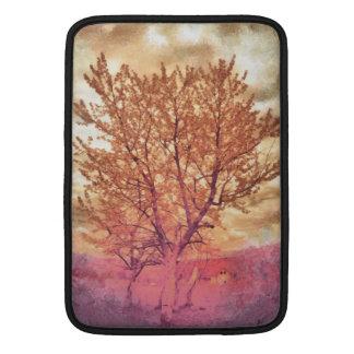 Pintura del árbol funda macbook air