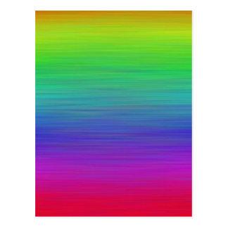 Pintura del arco iris postales