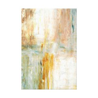Pintura del arte abstracto de la turquesa y de