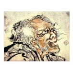 Pintura del arte de Hokusai Tarjetas Postales