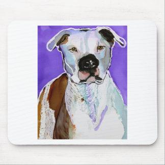 Pintura del arte de la tinta del alcohol del perro mouse pad