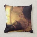 Pintura del arte de Rembrandt Cojin