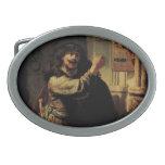 Pintura del arte de Rembrandt Hebilla Cinturón