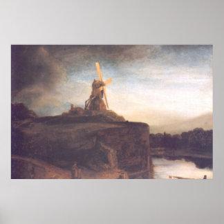 Pintura del arte de Rembrandt Impresiones