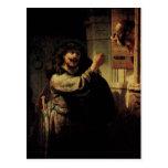 Pintura del arte de Rembrandt Postales