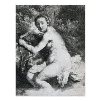 Pintura del arte de Rembrandt Tarjeta Postal