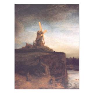 Pintura del arte de Rembrandt Tarjetas Postales