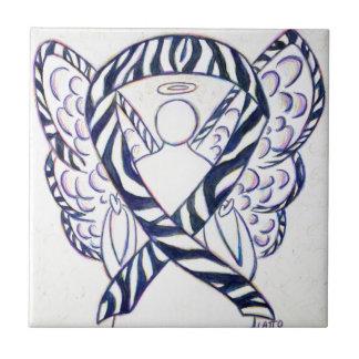 Pintura del arte del ángel de la cinta de la azulejo cuadrado pequeño