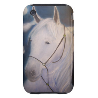 Pintura del arte del caballo iPhone 3 tough carcasas