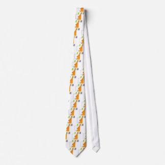 Pintura del balanceo del rodillo a través de la corbatas personalizadas