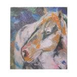 Pintura del caballo bloc de notas