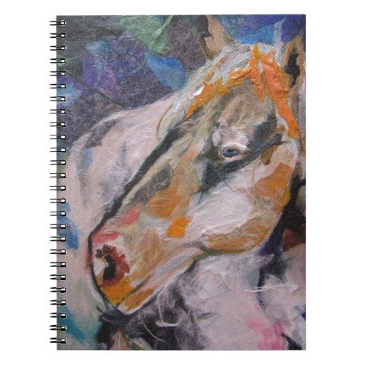 Pintura del caballo libretas