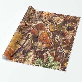 Pintura del camuflaje de Camo de la naturaleza de Papel De Regalo
