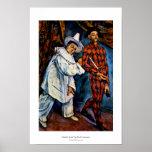 Pintura del carnaval por arte de la obra clásica d poster