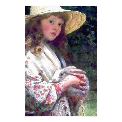 Pintura del conejo de conejito del mascota del chi papelería
