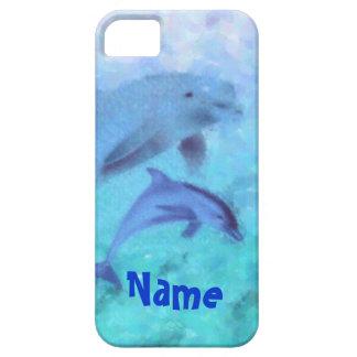 Pintura del delfín iPhone 5 Case-Mate carcasa