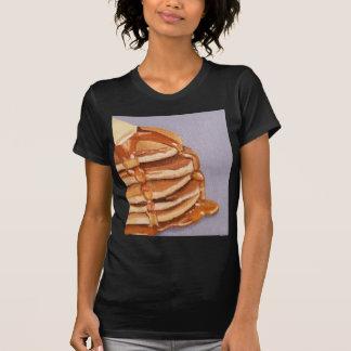 Pintura del desayuno de Shortstack de las crepes Playera