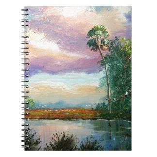 Pintura del desierto de la Florida Cuaderno