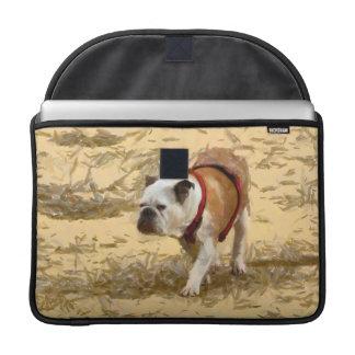 Pintura del dogo fundas para macbook pro
