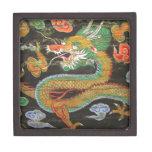 Pintura del dragón en el techo coreano de Sungnyem Caja De Regalo De Calidad