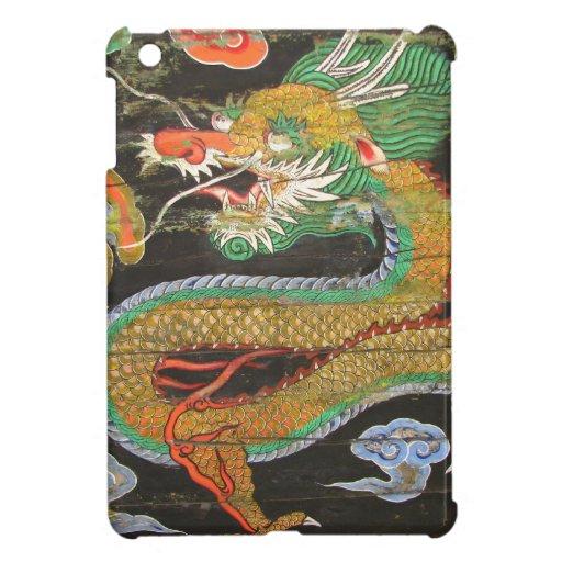 Pintura del dragón en el techo coreano de Sungnyem iPad Mini Coberturas