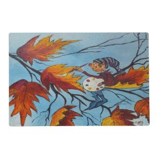 Pintura del duendecillo de la pintura de Ana Hayes Tapete Individual