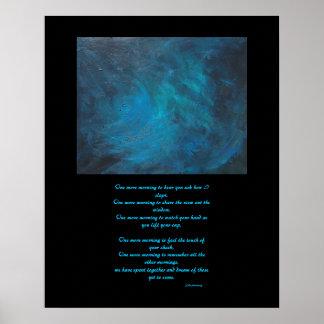 """Pintura del """"espacio"""" y poster abstractos de la"""
