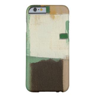 Pintura del expresionista con los movimientos funda de iPhone 6 barely there