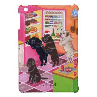 Pintura del fiesta de la cocina de Labrador