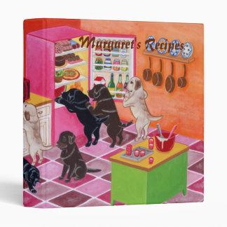 """Pintura del fiesta de la cocina de Labrador Carpeta 1"""""""