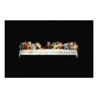 Pintura del fractal de da Vinci Jesús de la última Papeleria