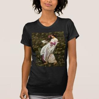Pintura del fractal del Waterhouse de los Windflow Camiseta
