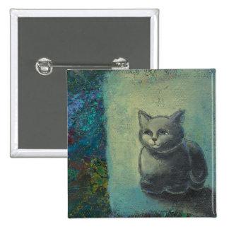 Pintura del gato - oh arte sabio y excelente del g