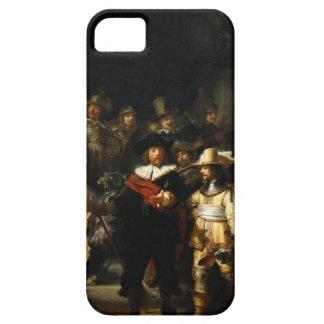 Pintura del guardia nocturna de Rembrandt Van Rijn iPhone 5 Carcasas