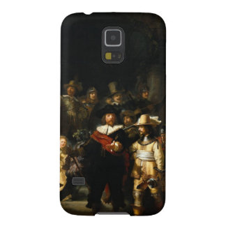 Pintura del guardia nocturna de Rembrandt Van Rijn Carcasas Para Galaxy S5