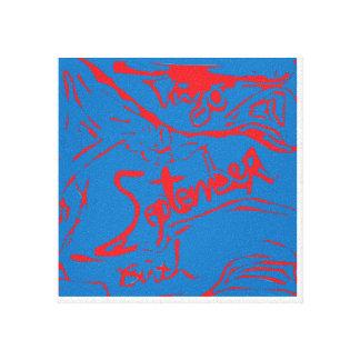 Pintura del nacimiento de septiembre del virgo impresion de lienzo
