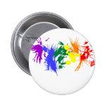 Pintura del orgullo gay pin