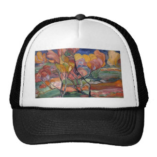 Pintura del otoño gorra