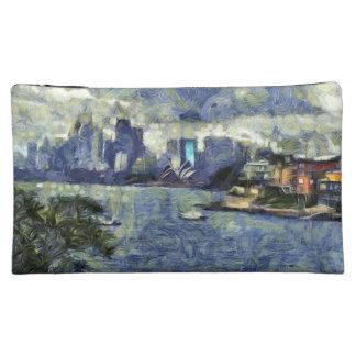 Pintura del paisaje acuoso de Sydney