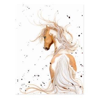 Pintura del Palomino majestuosa por la postal de