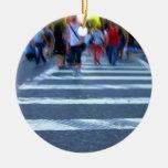 Pintura del paseo de la cruz de NYC Adorno Para Reyes