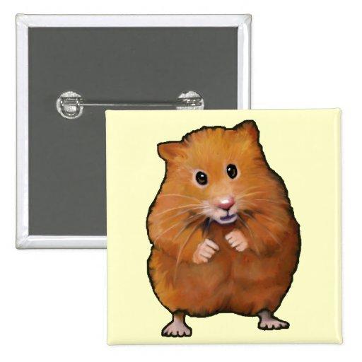 Pintura del pequeño hámster lindo: Mascota peludo