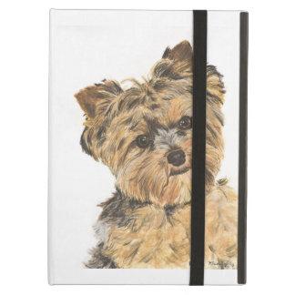 Pintura del perrito de Yorkshire Terrier