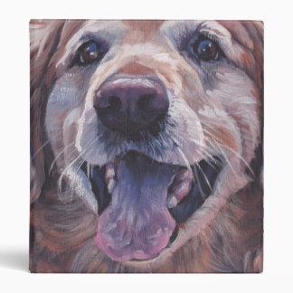 """Pintura del perro de la bella arte del golden carpeta 1"""""""