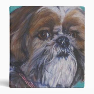 """pintura del perro de la bella arte del tzu de shih carpeta 1"""""""