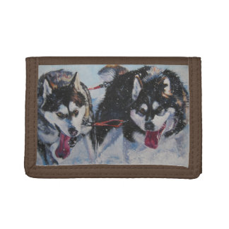 Pintura del perro de trineo del Malamute de Alaska
